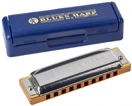 Hohner Blues Harp MS - Major Diatonic Harmonica - Key of D
